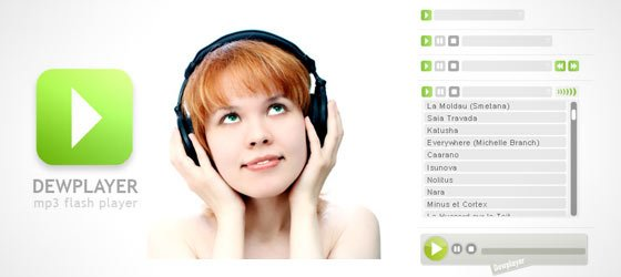 21 Free Music Players For Your Website