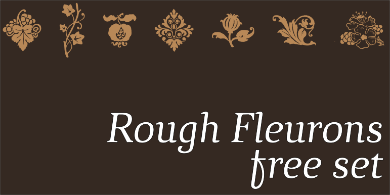 RoughFleurons FREE banners