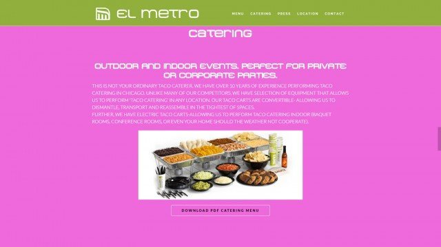 ElMetro-Catering