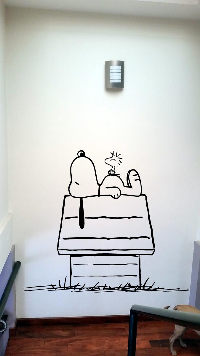 Snoopy & Wall Decal Snoopy u2013 Handcut Designs - Chicago Web Design